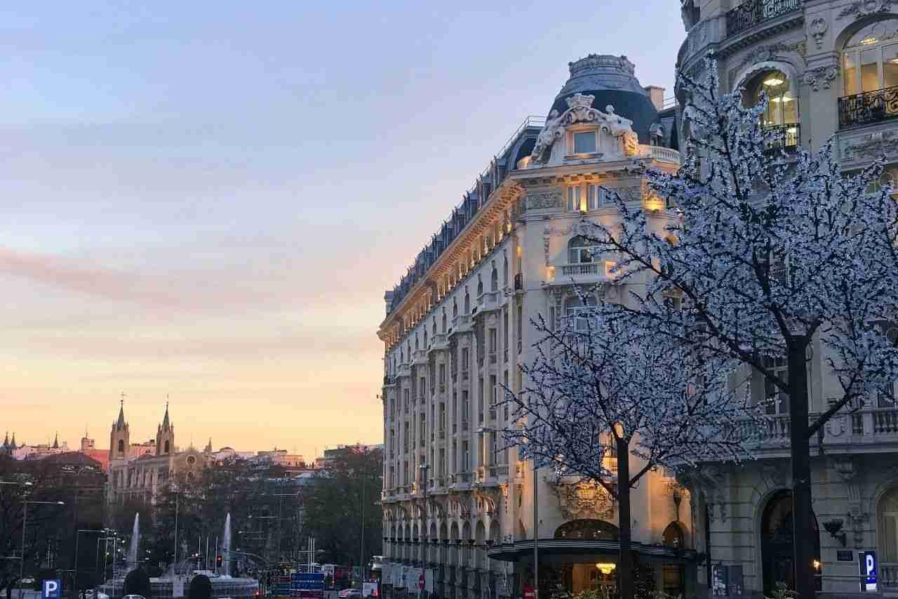 Best neighborhood in Madrid: Las Cortes