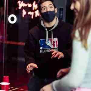 beer pong hoodie
